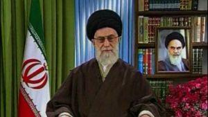 Ayatollah Ali Khamenei i ett tv-tal