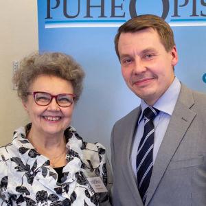 Tuomas Kurttila ja Marsa Bäck vuonna 2018.