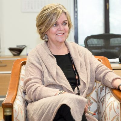 Islannin Suomen-suurlähettiläs Kristín A. Árnadóttir