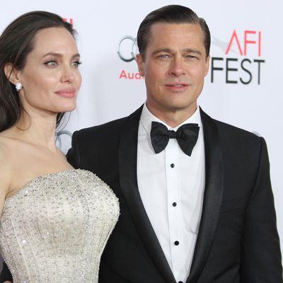 Angelina Jolie ja Brad Pitt.