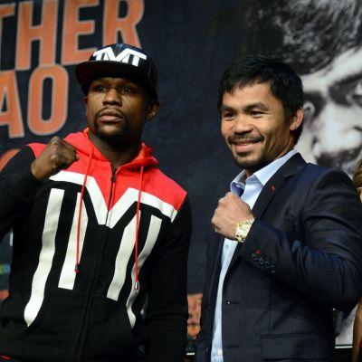 Floyd Mayweather ja Manny Pacquaio