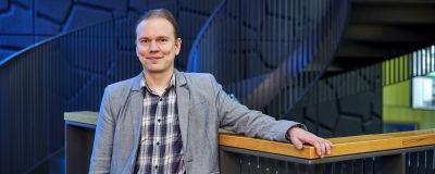 Porträtt på professor Simo Saarakkala