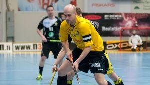 Niklas Malm är lagkapten i Raseborg Knights.
