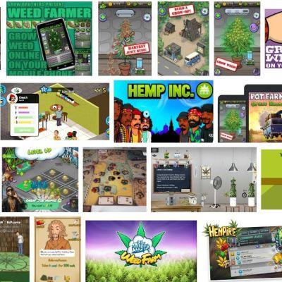 En snabb googlesökning ger många resultat på olika spel där man odlar marijuana.