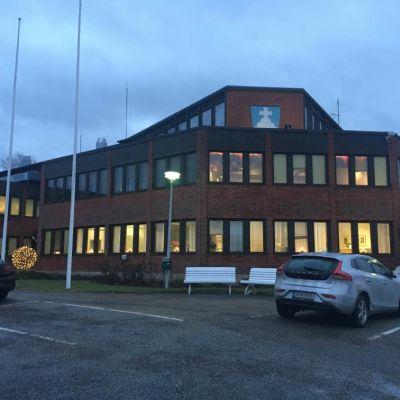 Alavuden kaupungintalo tammikuussa 2020