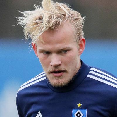 Joel Pohjanpalo tränar med Hamburg.