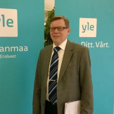 Maakuntajohtaja Olav Jern Pohjanmaan liitosta.