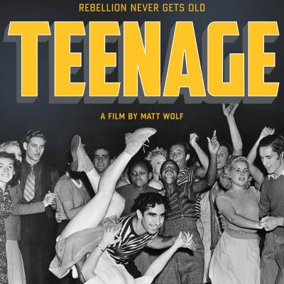 Teenage. Dokumenttielokuva, ohjaus Matt Wolf. Elokuvan juliste.