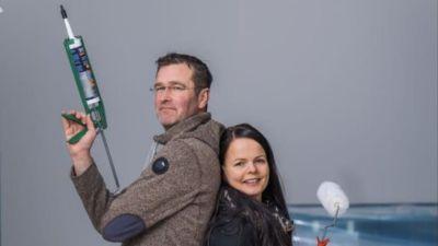 Anders och Sara behövde kavla upp ärmarna när byggfirman de anlitat gick i konkurs.