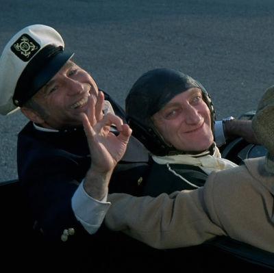 Mel Brooks, Marty Feldman ja Dom DeLuise elokuvassa Mykkä leffa
