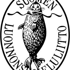 Erik Bruunin piirtämä Suomen luonnonsuojeluliiton vanha logo