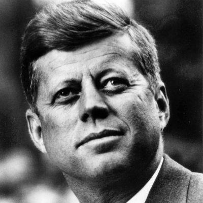 John F. Kennedy i februari 1961.