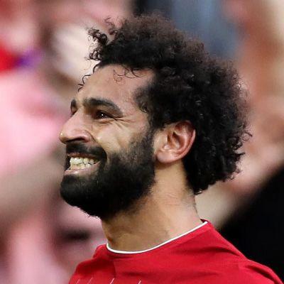 Mohamed Salah firar 3–0-målet.