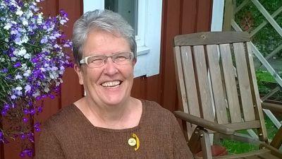 Nancy Lökfors, svampkonsulent i Sibbo
