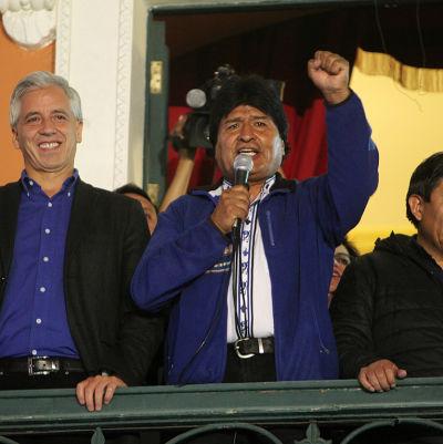 Morales segarde överlägset