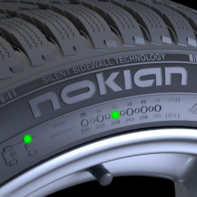 Nokian Renkaan valmistama autonrengas.