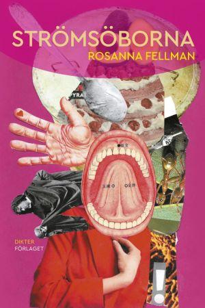 Det rosa bokomslaget för Rosanna Fellmans diktsamling Strömsöborna.