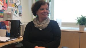 Skolhälsovårdare Antonina Carlberg.