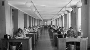 Elantos huvudkontor 1948.