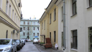 Suomenkuja niminen katu Pietarissa