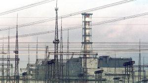 Tjernobyls kärnkraftverk i Ukraina