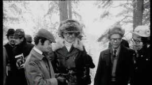 Prins Carl XVI Gustaf och Urho Kekkonen på fasanjakt