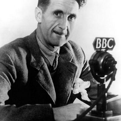 George Orwell på BBC år 1941.