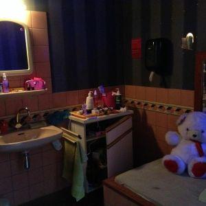 En peeskamer, ett rum där en prostituerad jobbar