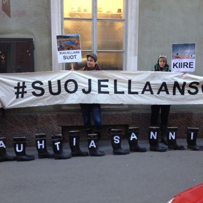 bild från demonstration för kärr