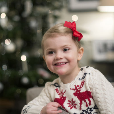 Prinsessan Estelles julhälsning.