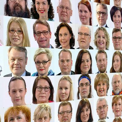 Yle lanserar ett kandidatgalleri inför Europaparlamentsvalet 2014.