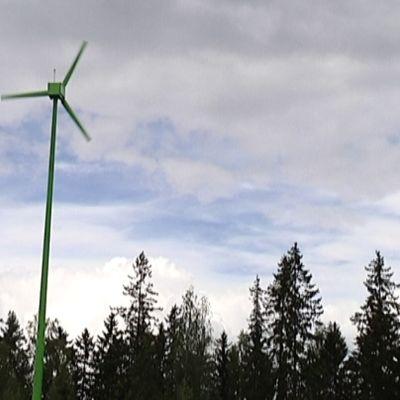 Vindkraft är pop i Villmanstrand