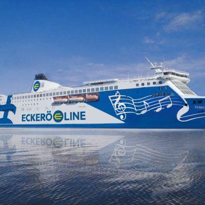 Eckerö Lines nya förja Finlandia
