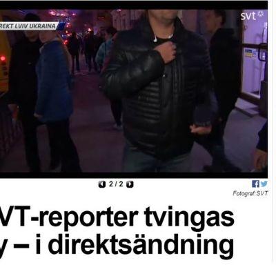 SVT, Expressen ja Malmö Ukrainassa.