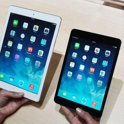 iPad-laitteita.