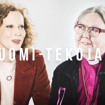 Suomi-tekoja: Saimi Hoyer ja Irja Askola.