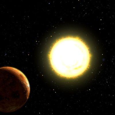 tähteä kiertävä planeetta