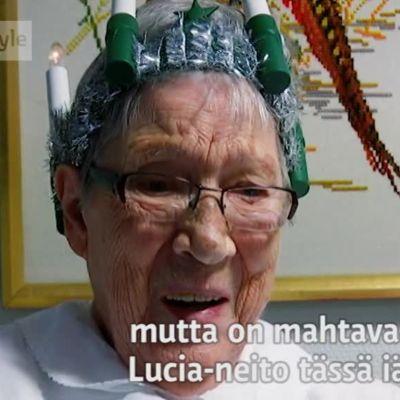 Uutisvideot: Luciaksi 97-vuotiaana