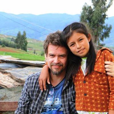 Pertti Honkela ja Yoselin Perussa.