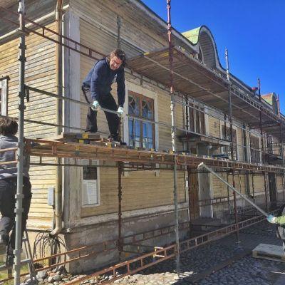 rakennustelineet