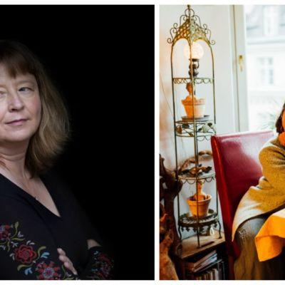Författarna Carina Karlsson och Susanne Ringell.