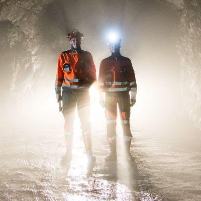 kaivosmiehiä