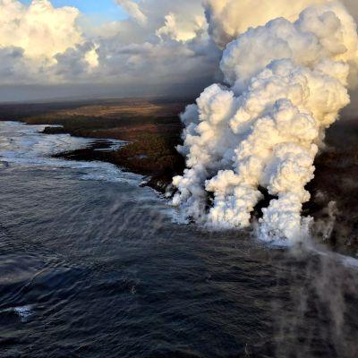 Kilauean tulivuori.