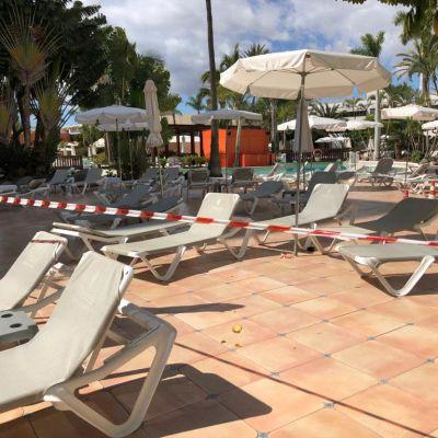 Hotellin uima-allas suljettiin