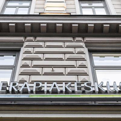 Psykoterapiakeskus Vastaamo Helsingissä.