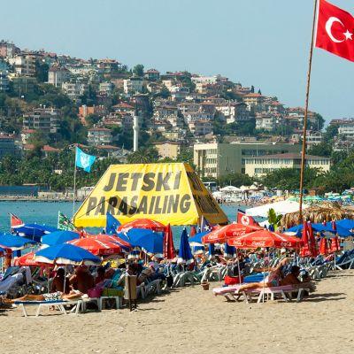 Rantalomailua Turkin Alanyassa