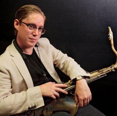 Fredrik Lindborg, saxofonist i LSD-trio
