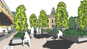 Vision för torget i Jakobstad