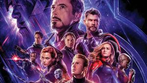 Filmplanschen till Avengers: Endgame.