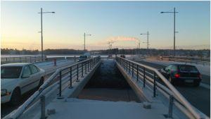 Den förnyade södra delen av Vasklotbron har öppnats.